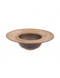 Тарелка для пасты 23х6,5см 350мл серия Untouched Taiga матовый фарфор PL Proff Cuisine