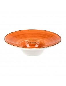 Тарелка для пасты 25,5см 250мл  серия Brown Shore Fusion фарфор PL Proff Cuisine