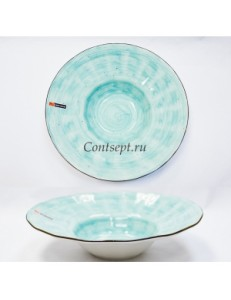 Тарелка для пасты 29см 400мл фарфор PL Proff Cuisine серия OCEAN FUSION