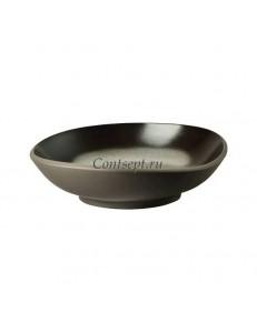 Тарелка глубокая 17х16см фарфор Rosenthal серия Junto Slate Grey