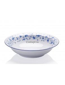Тарелка глубокая 23см 850мл фарфор Arzberg серия Form 1392 Blaubluten