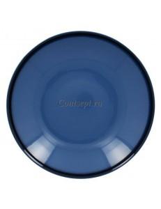 Тарелка глубокая синяя 30см 1900мл фарфор RAK серия LEA