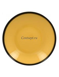 Тарелка глубокая желтая 30см 1900мл фарфор RAK серия LEA