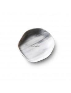 Тарелка круглая 9см стекло PORDAMSA серия Nordica