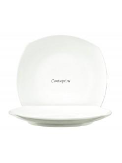 Тарелка квадратная 22,5х22,5см фарфор PL Proff Cuisine