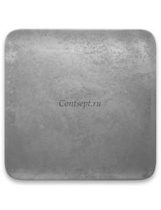 Тарелка квадратная 22х22см фарфор RAK серия Shale
