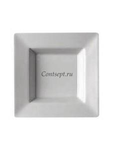 Тарелка квадратная 22х22см фарфор Rosenthal серия Accenti