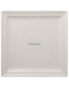 Тарелка квадратная 25х25 см фарфор RAK серия Sand