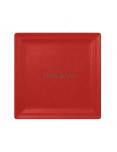 Тарелка квадратная 30х30 см фарфор RAK серия Neofusion Ember