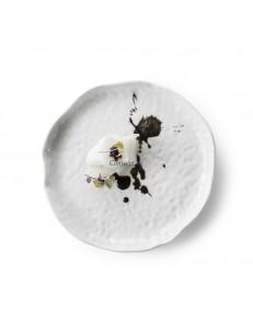 Тарелка мелкакя 17см фарфор PORDAMSA серия Salina