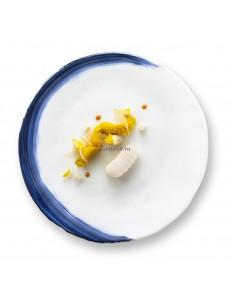 Тарелка мелкакя 26см стекло PORDAMSA серия Oia