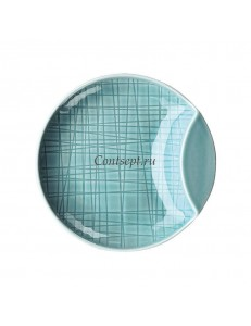 Тарелка мелкая 12см фарфор Rosenthal серия Mesh Aqua