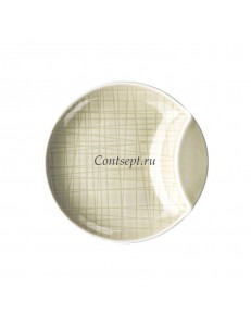 Тарелка мелкая 12см фарфор Rosenthal серия Mesh Cream
