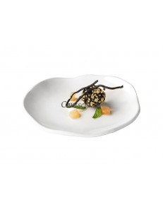 Тарелка мелкая 13см фарфор PORDAMSA серия Gastro