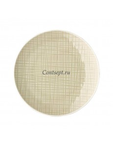 Тарелка мелкая 15см фарфор Rosenthal серия Mesh Cream