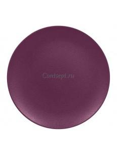 Тарелка мелкая 15см фиолетовая фарфор RAK серия  Mellow Neofusion