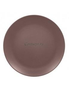 Тарелка мелкая 15см коричневая фарфор RAK серия  Mellow Neofusion