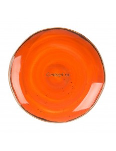 Тарелка мелкая 16,5см серия Orange Sky Fusion фарфор PL Proff Cuisine
