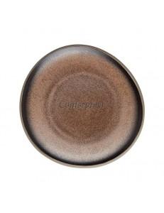 Тарелка 16х15см керамика Rosenthal серия Junto Bronze