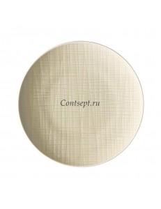 Тарелка мелкая 17см фарфор Rosenthal серия Mesh Cream