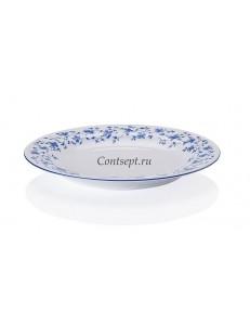 Тарелка мелкая 19см  фарфор Arzberg серия Form 1392 Blaubluten