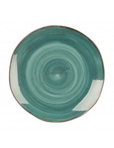Тарелка мелкая 20,5см серия Green Sea Fusion фарфор PL Proff Cuisine
