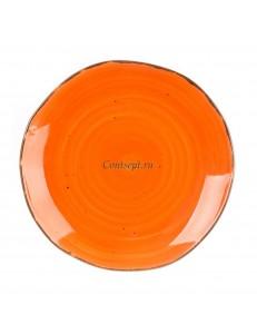 Тарелка мелкая 20,5см серия Orange Sky Fusion фарфор PL Proff Cuisine