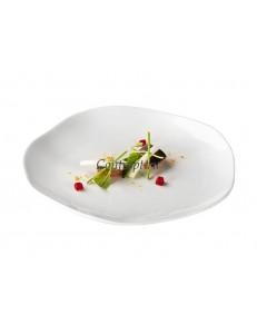Тарелка мелкая 20см фарфор PORDAMSA серия Gastro