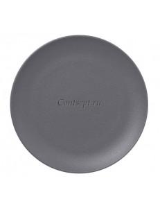 Тарелка мелкая 21 см без борта фарфор RAK серия Stone