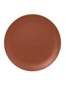 Тарелка мелкая 21 см без борта фарфор RAK серия Terra
