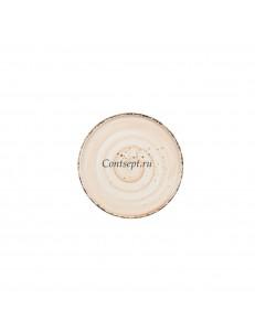Тарелка мелкая 22см фарфор PL Proff Cuisine серия ORGANICA SAND