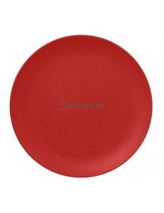 Тарелка мелкая 24 см без борта фарфор RAK серия Neofusion Ember