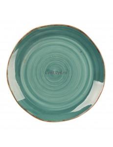 Тарелка мелкая 25,5см  серия Green Sea Fusion фарфор PL Proff Cuisine