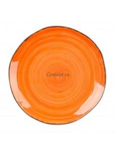 Тарелка мелкая 25,5см серия Orange Sky Fusion фарфор PL Proff Cuisine