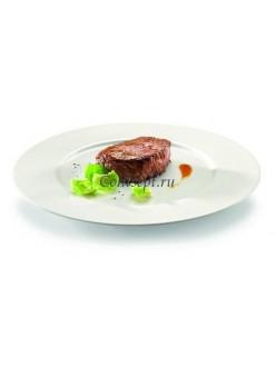 Тарелка мелкая 25 см фарфор RAK серия Fine Dine