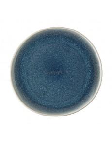 Тарелка мелкая 25х24см фарфор Rosenthal серия Junto Aquamarine