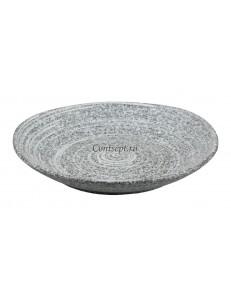 Тарелка мелкая 26х4 см серия Untouched Taiga матовый фарфор PL Proff Cuisine