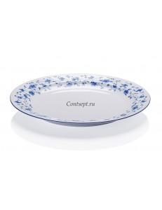 Тарелка мелкая 26см  фарфор Arzberg серия Form 1392 Blaubluten