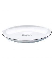 Тарелка мелкая 26см фарфор Arzberg серия Cucina Black