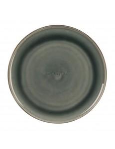 Тарелка мелкая 27,5см цвет темно-серый серия Black Spider Silk фарфор PL Proff Cuisine