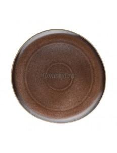 Тарелка 27х26см керамика Rosenthal серия Junto Bronze