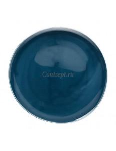 Тарелка мелкая 27х26см фарфор Rosenthal серия Junto Ocean Blue