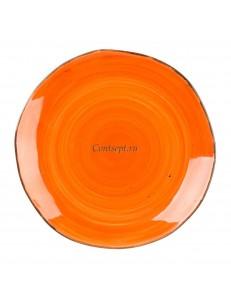 Тарелка мелкая 29см серия Orange Sky Fusion фарфор PL Proff Cuisine