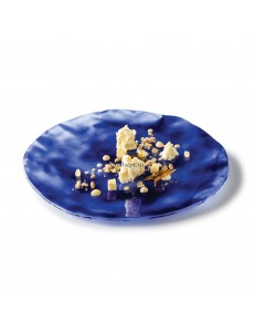 Тарелка мелкая 30см стекло PORDAMSA серия Indigo