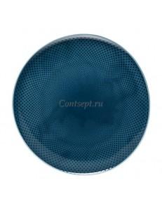 Тарелка мелкая 31,5х30,5см фарфор Rosenthal серия Junto Ocean Blue
