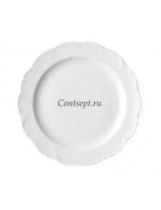Тарелка мелкая 34см фарфор Rosenthal серия Monbijou