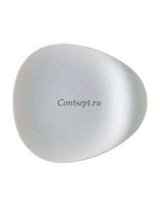 Тарелка мелкая с ручкой 18х16см фарфор Rosenthal серия Accenti