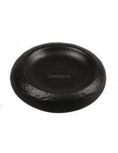 Тарелка мелкая с углублением 14,5х4 см фарфор PL Proff Cuisine серия Black star