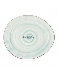 Тарелка овальная  30х26см фарфор PL Proff Cuisine серия OCEAN FUSION