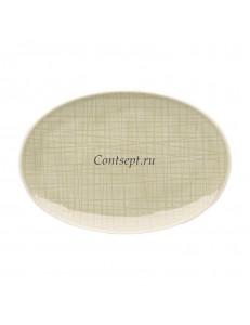 Тарелка овальная 18х12см фарфор Rosenthal серия Mesh Cream